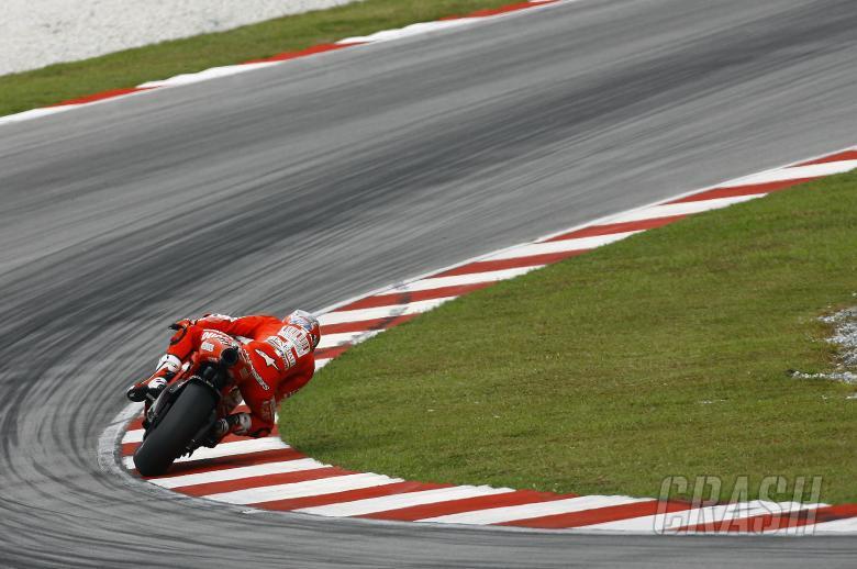 Stoner, Sepang MotoGP tests, 4th-5th February, 2010