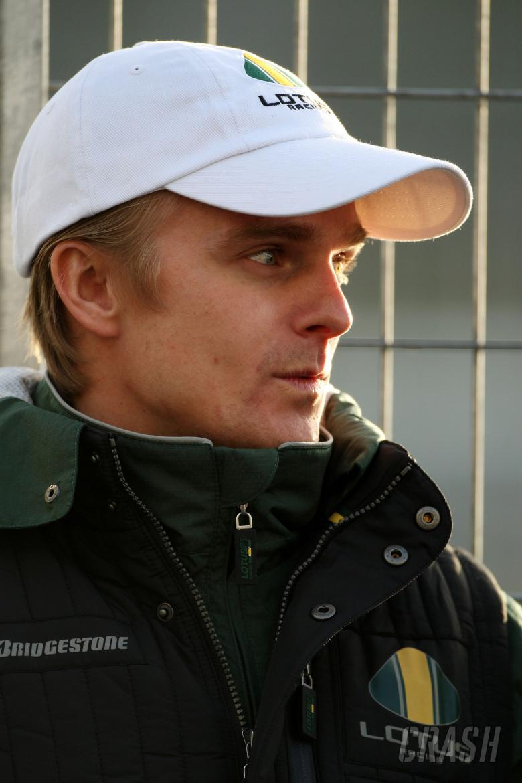 17.02.2010 Jerez, Spain, Heikki Kovalainen (FIN), Lotus F1 Team - Formula 1 Testing, Jerez, Spain