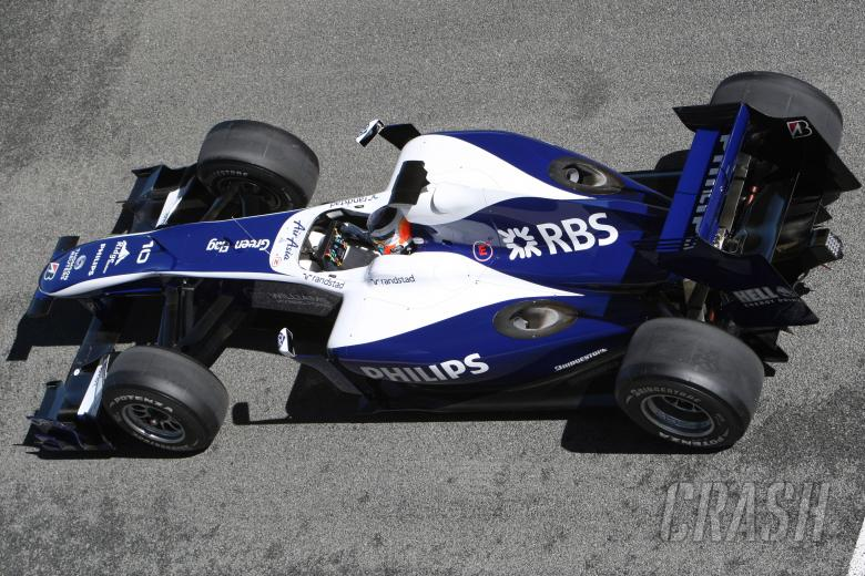 19.02.2010 Jerez, Spain, Nico Hulkenberg (GER), Williams F1 Team, FW32, detail - Formula 1 Testing,