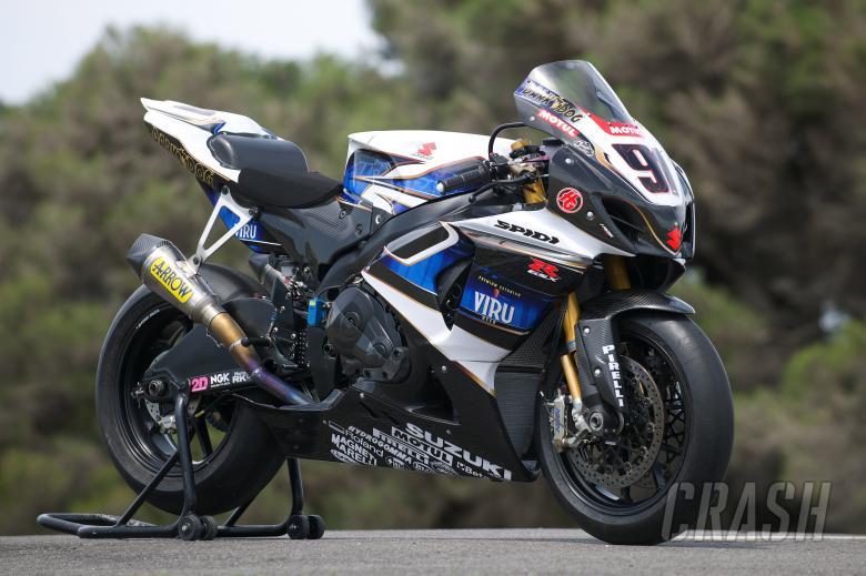 Haslam, Suzuki GSXR 1000, Australian WSBK Test 2010