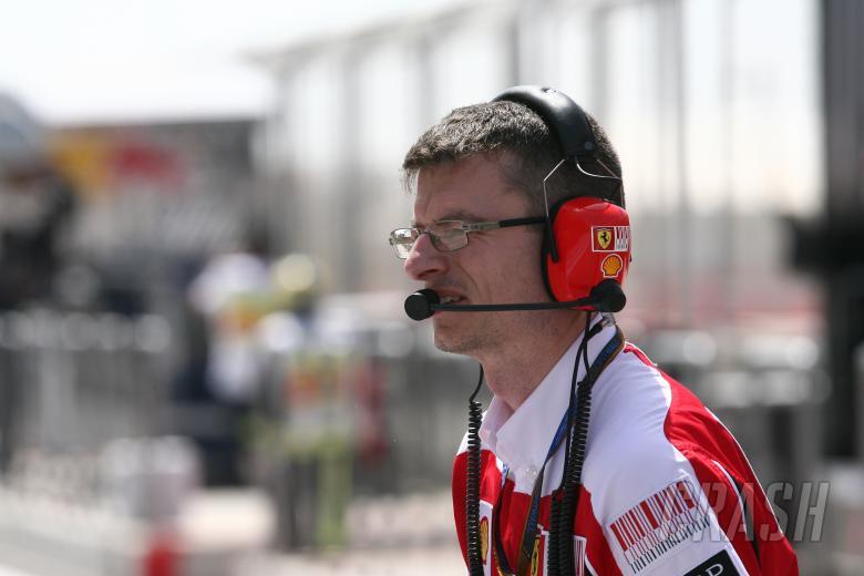 Chris Dyer, Race Engineer, Scuderia Ferrari