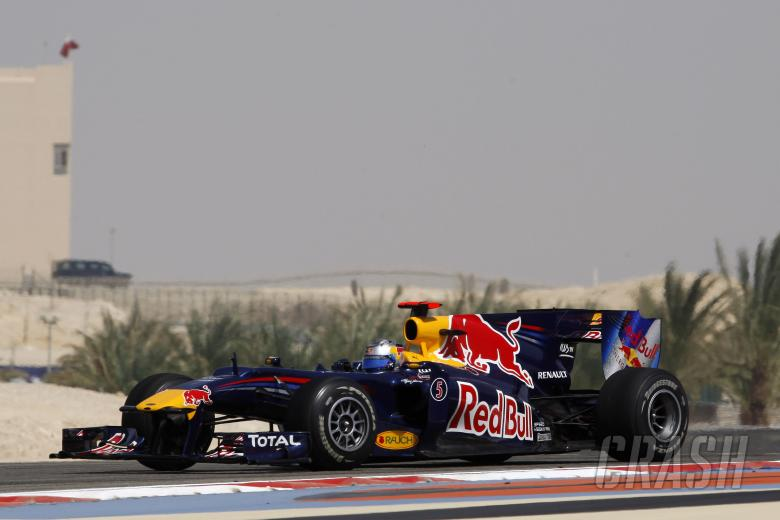 Sebastian Vettel (GER) Red Bull Racing RB 6