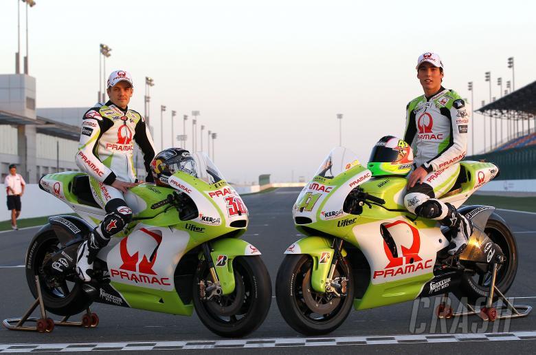 Kallio and Espargaro, Qatar MotoGP tests, March 2010