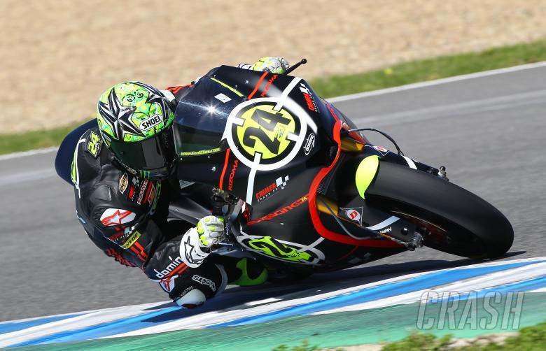 Elias, Jerez Moto2 tests 2010