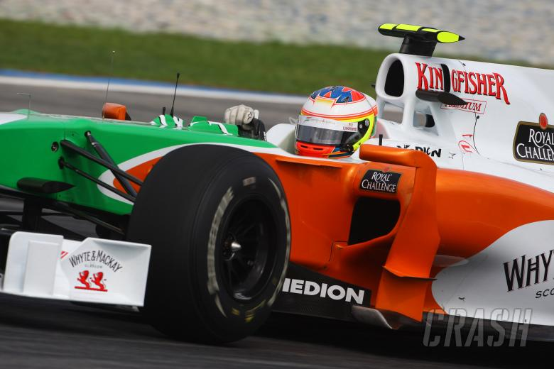 Friday Practice 1, Vitantonio Liuzzi (ITA), Force India F1 Team, VJM03