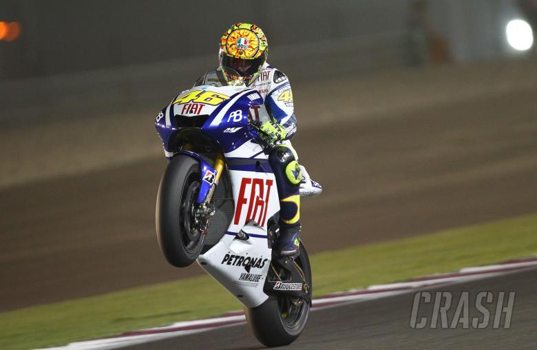 Rossi, Qatar MotoGP 2010