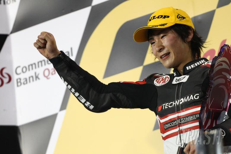 Tomizawa, Moto2 race, Qatar MotoGP 2010