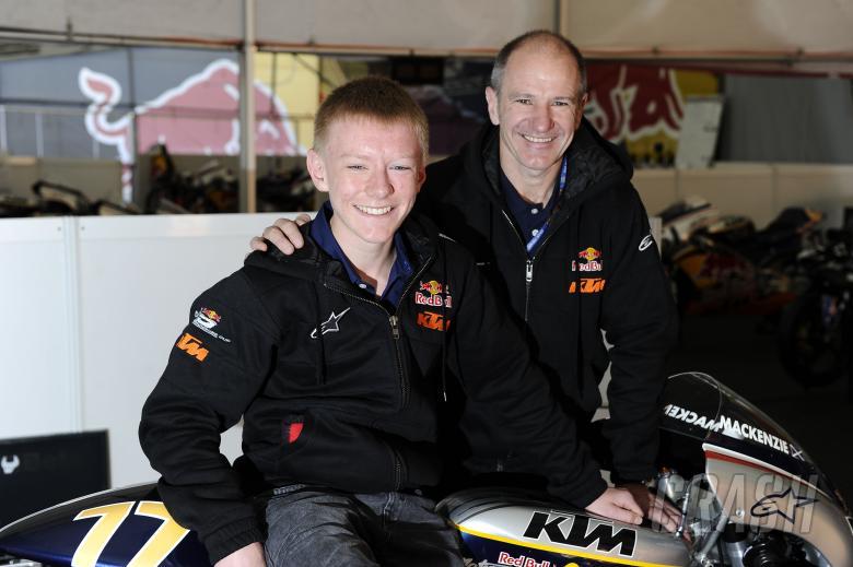 Niall Mackenzie, Taylor Mackenzie, Red Bull Rookies, Spanish MotoGP 2010