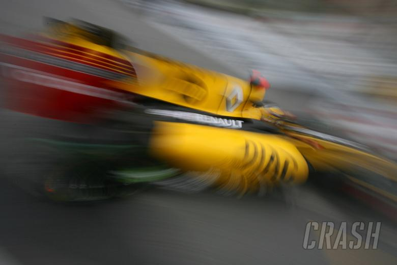 Thursday Practice2, Robert Kubica (POL), Renault F1 Team, R30