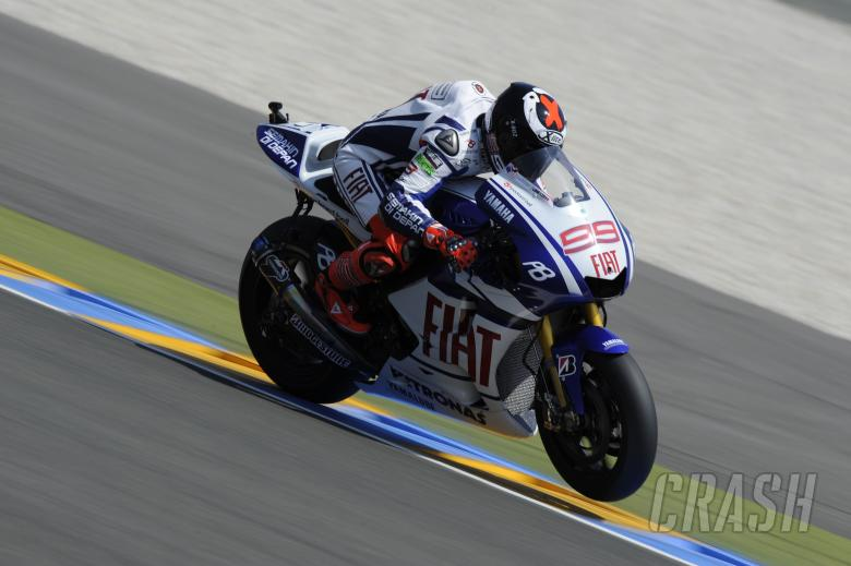 Lorenzo, French MotoGP 2010
