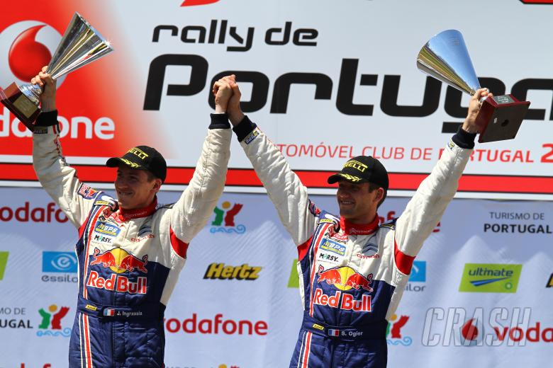 Podium, Sebastien Ogier (F) Julien Ingrassia (F) Citroen C4 WRC, Citroen Junior Team