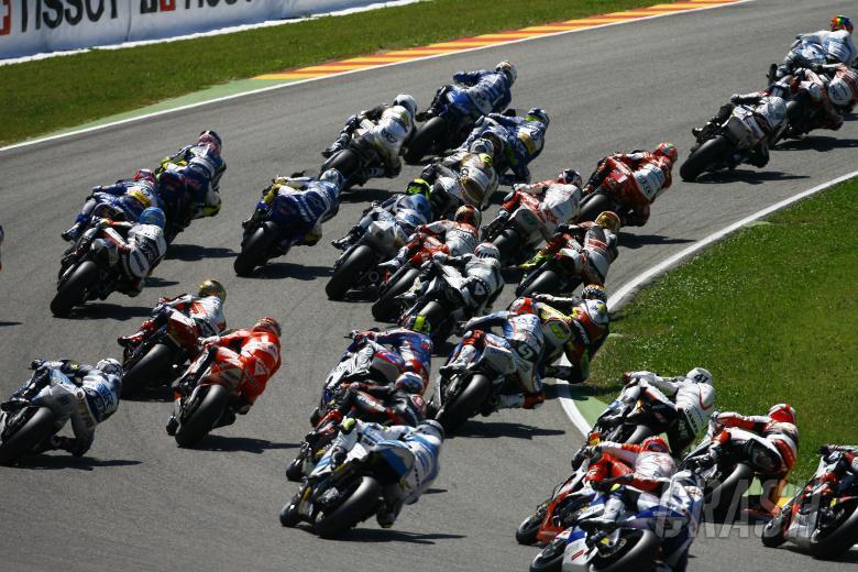First lap, Italian Moto2 Race 2010