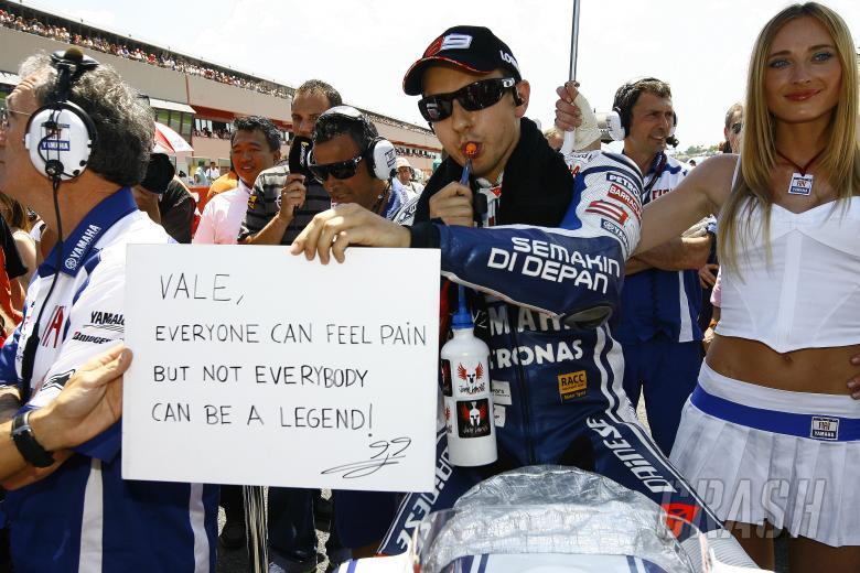 Lorenzo, MotoGP race,  Italian GP 2010