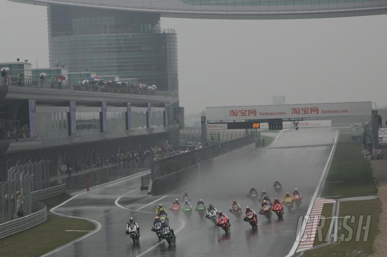 Start, Chinese MotoGP, 2005
