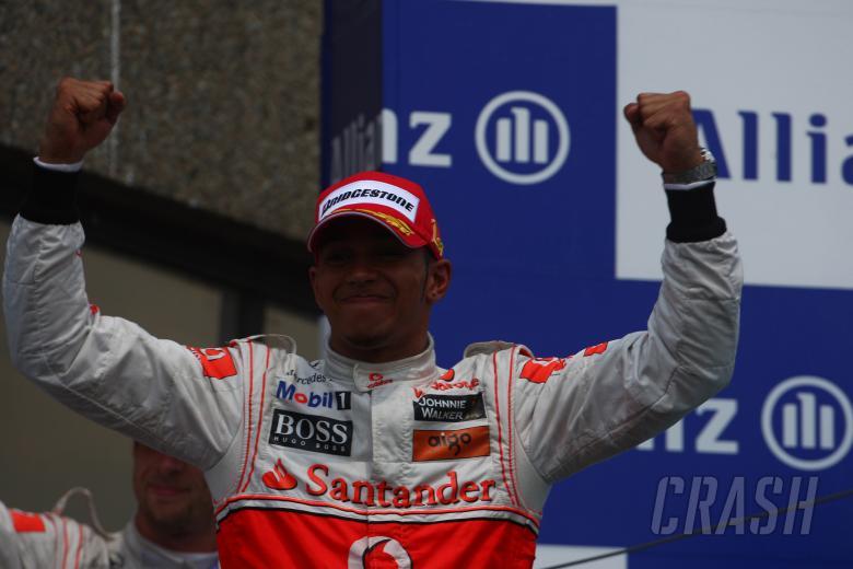 Race, Lewis Hamilton (GBR), McLaren  Mercedes, MP4-25 race winner