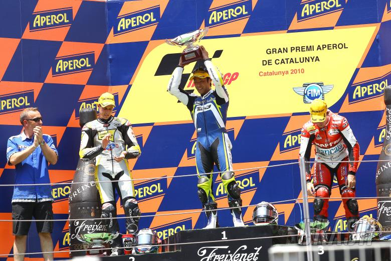 Luthi Takahashi, Simon, Moto2 race, Catalunya GP 2010