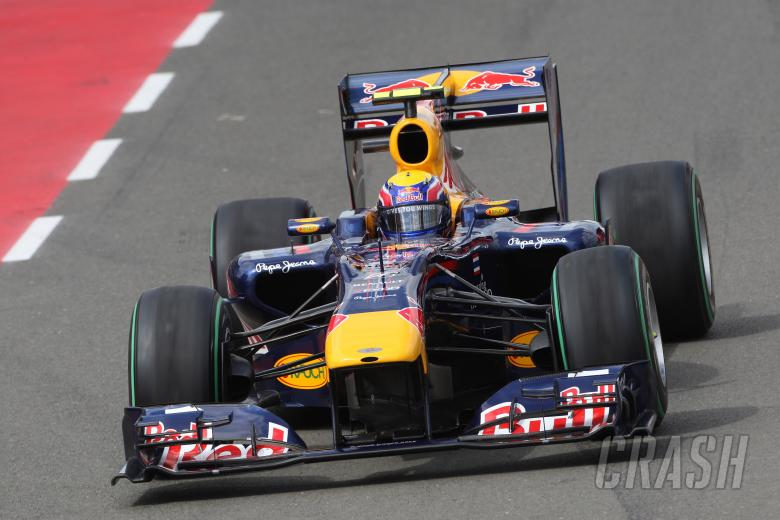 Saturday Practice, Mark Webber (AUS), Red Bull Racing, RB6