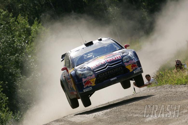Kimi Raikkonen (FIN) Kaj Lindstrom (FIN), Citroen C4 WRC, Citroen Junior Team