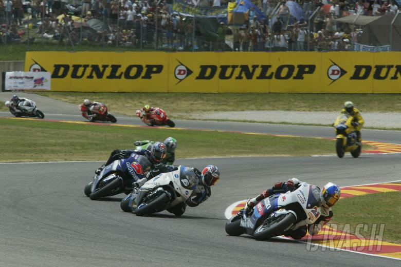 Hopkins, Tamada, Edwards et al, Italian MotoGP Race, 2005