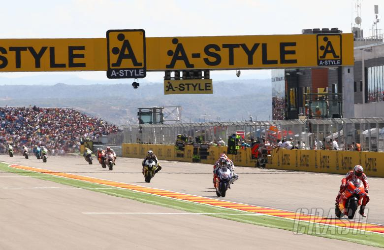 Stoner, Aragon MotoGP 2010