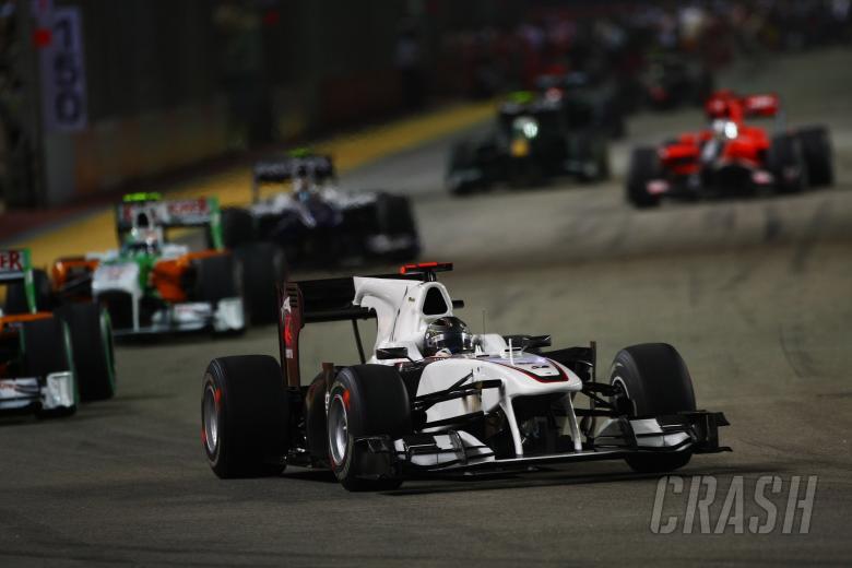 Race, Nick Heidfeld (GER), BMW Sauber F1 Team, C29
