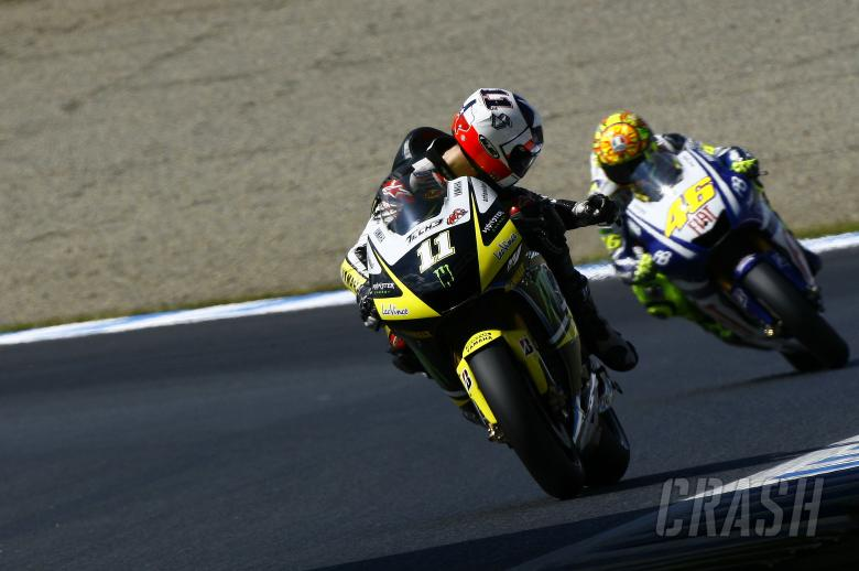 Spies and Rossi, Japanese MotoGP 2010