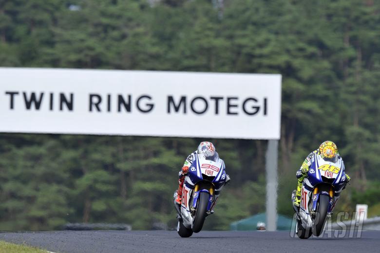 Rossi, Japanese MotoGP Race 2010