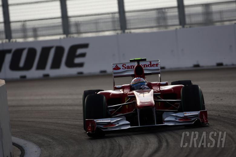 Friday Practice 2,Fernando Alonso (ESP), Scuderia Ferrari, F10