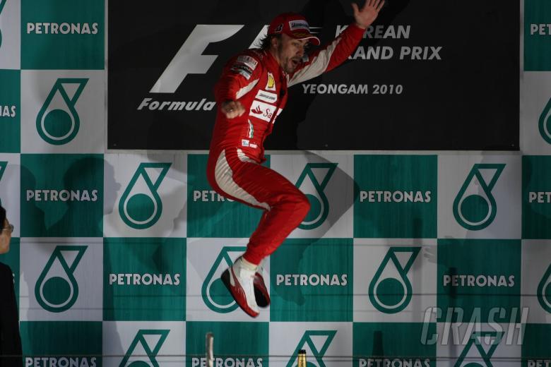 ,  - Race, Fernando Alonso (ESP), Scuderia Ferrari, F10 race winner