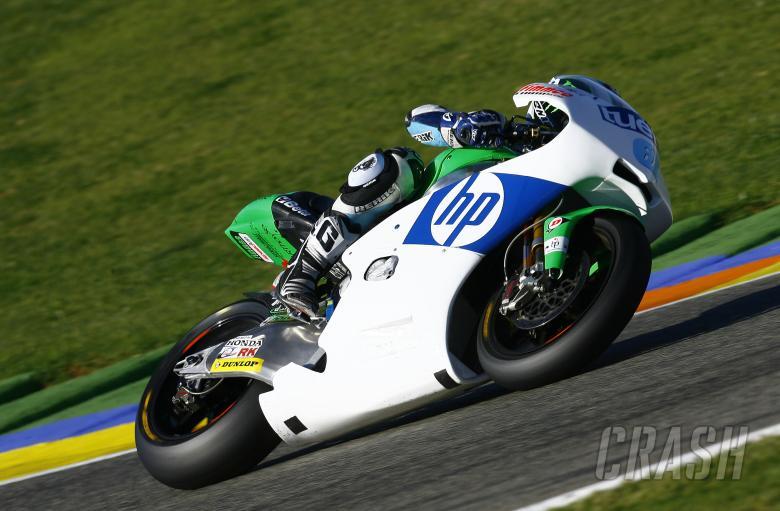 Pol Espargaro, Valencia Moto2 tests, November 2010