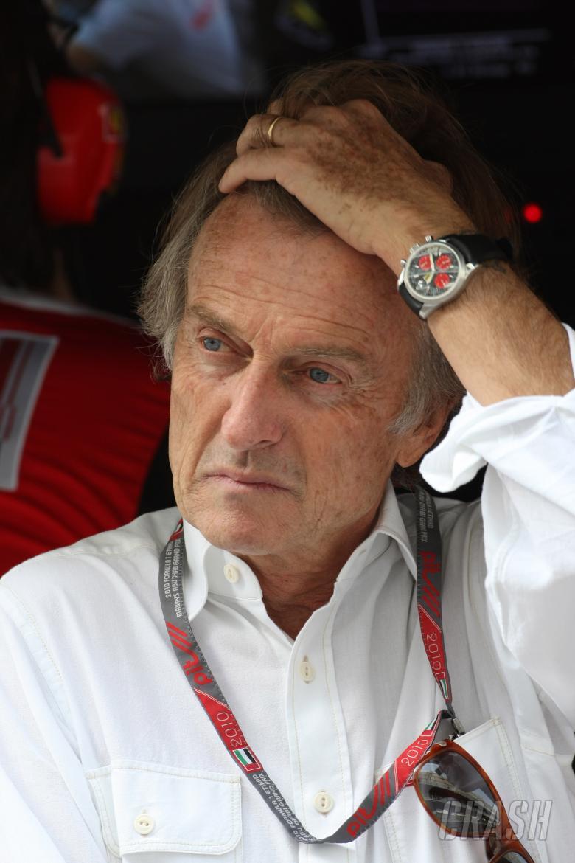 Saturday Practice, Luca Cordero di Montezemolo(ita), President Scuderia Ferrari