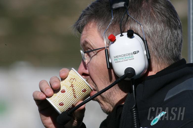 Ross Brawn (GBR), Team Principal, Mercedes GP