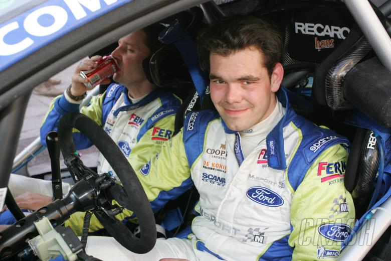 Dennis Kuipers and Frederic Miclotte, Ford Fiesta RS WRC, FERM Power Tools World Rally Team