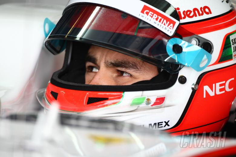 25.03.2011- Friday Practice 1, Sergio Perez (MEX), Sauber F1 Team C30