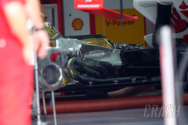 08.04.2011- Friday Practice 1, Engine Scuderia Ferrari