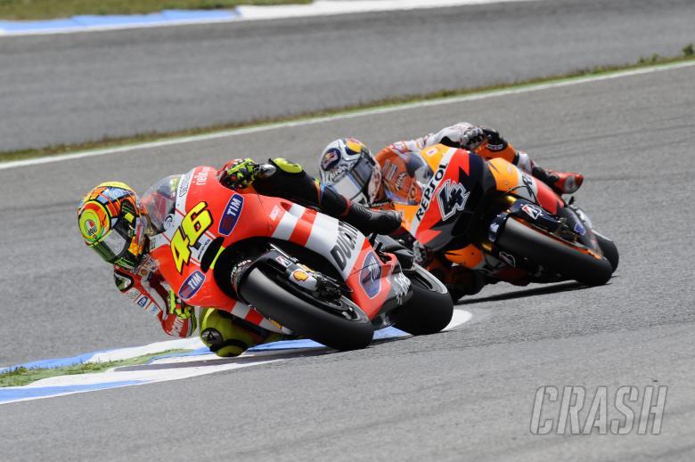 Rossi, Portuguese MotoGP Race 2011