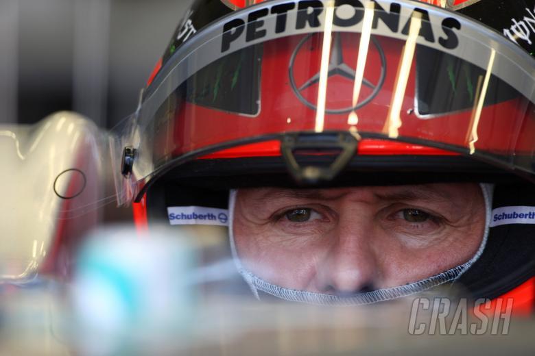 07.05.2011- Saturday Practice, Michael Schumacher (GER), Mercedes GP Petronas F1 Team, MGP W02