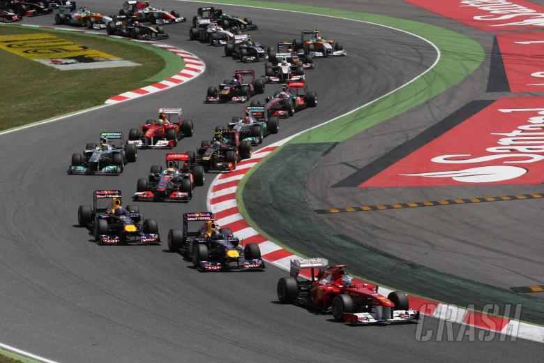 22.05.2011- Race, start