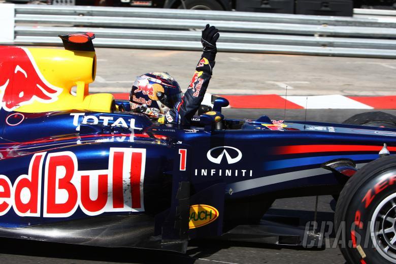 29.05.2011- Race, Sebastian Vettel (GER), Red Bull Racing, RB7 race winner
