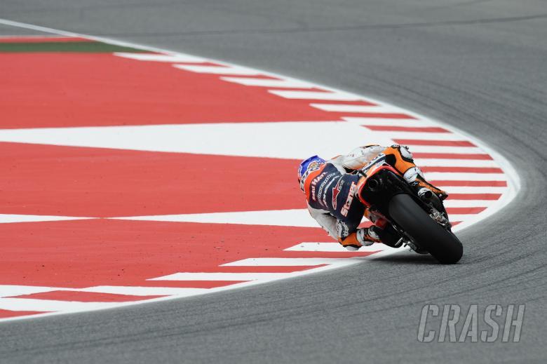 Stoner slides, Catalunya MotoGP 2011