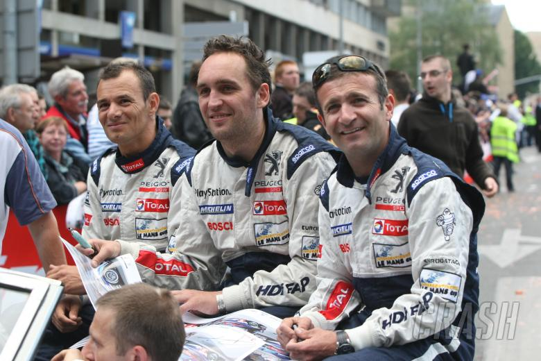 Stepane Sarrazin/Franck Montagny/Nicolas Minassian - Peugeot Sport Total Peugeot 908