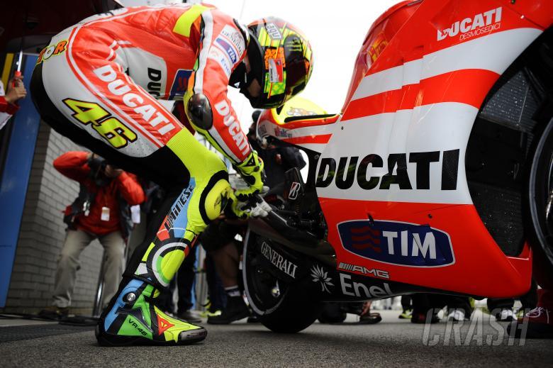 Rossi, Dutch MotoGP 2011