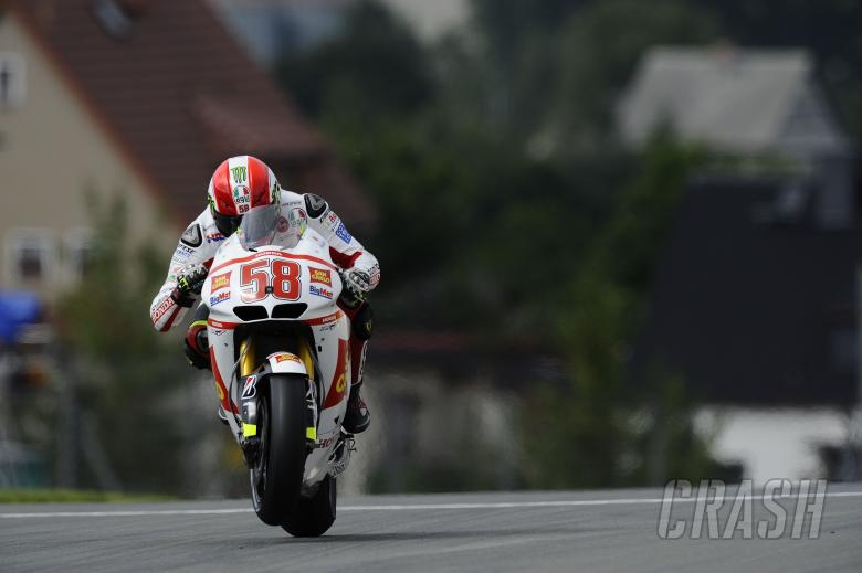 , , Simoncelli, German MotoGP 2011