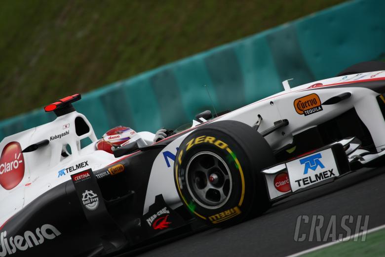 29.07.2011 Kamui Kobayashi (JAP), Sauber F1 Team C30