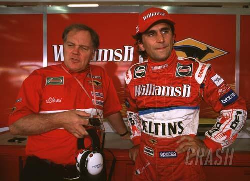 Zanardi And Williams Split.