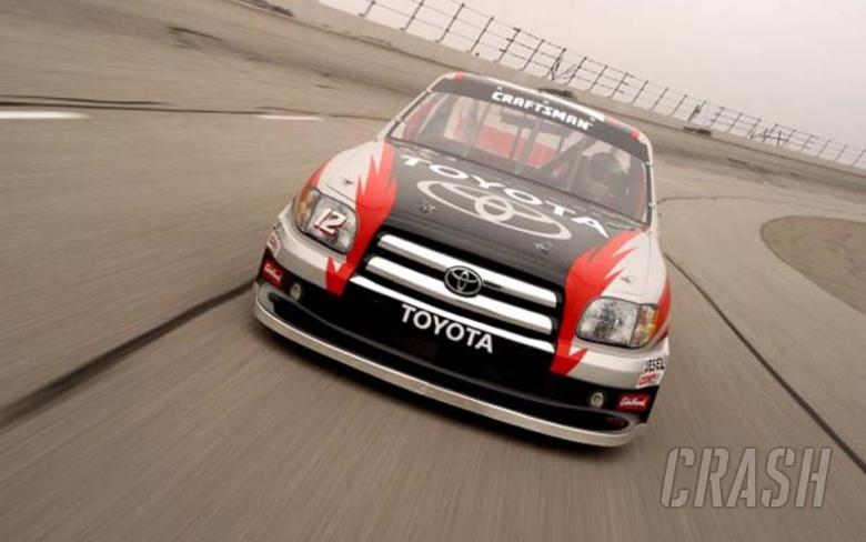 Tundra makes official test debut.