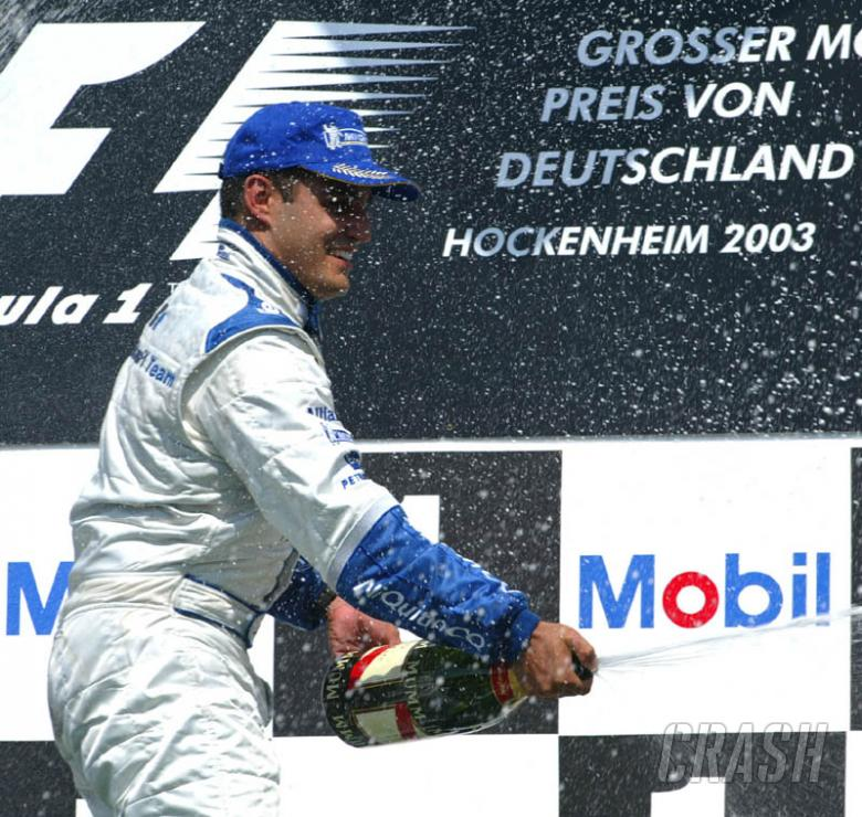 German GP 2003 - Montoya blazes trail to victory.