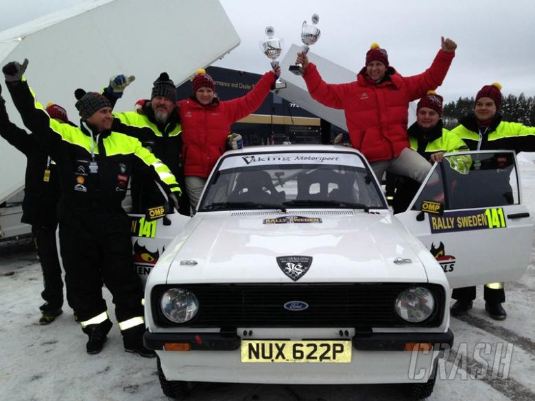 Solberg to defend Historic Rally Sweden crown