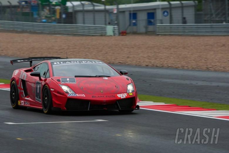 Newey crashes out of Lamborghini outing