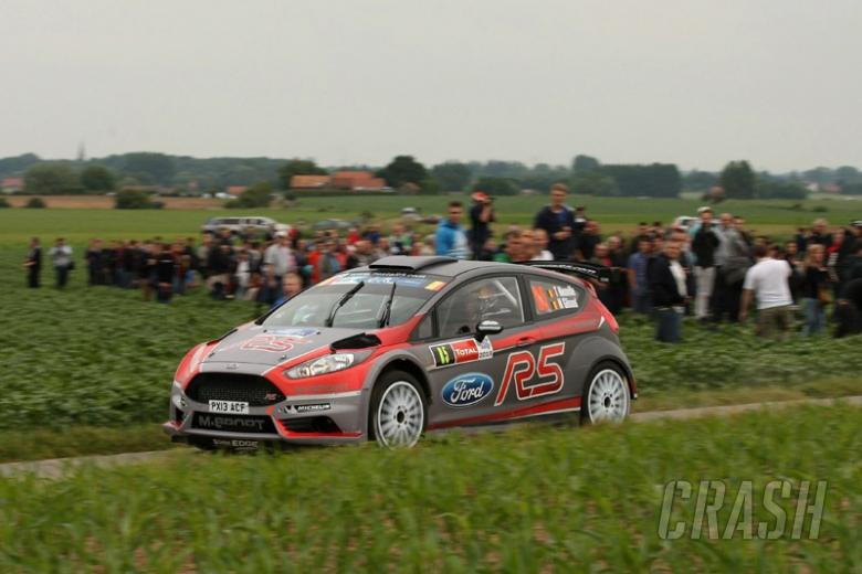 Neuville impressed by new Fiesta R5 after Ypres run